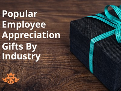 Popular Employee Appreciation Gifts by Industry